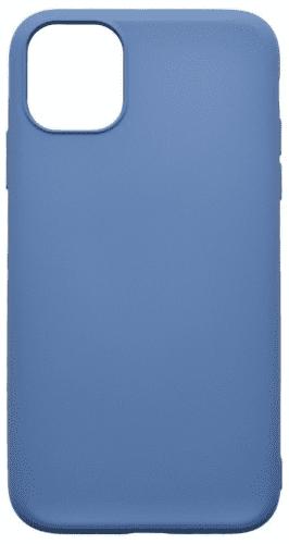 Mobilnet Soft silikonové pouzdro pro Apple iPhone 11 Pro, modrá
