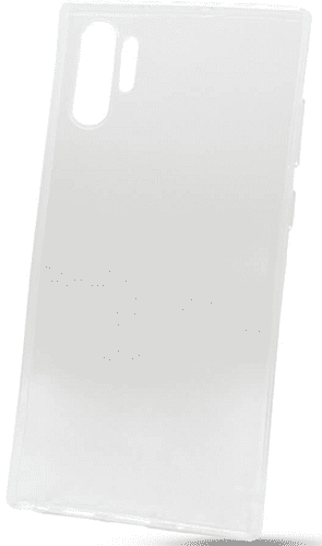 Mobilnet gumové pouzdro pro Samsung Galaxy Note10+, transparentní