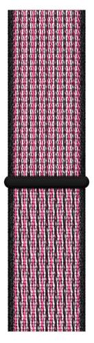 Apple Watch 44 mm Nike sportovní provlékací řemínek, křiklavě růžový/sytě fialový