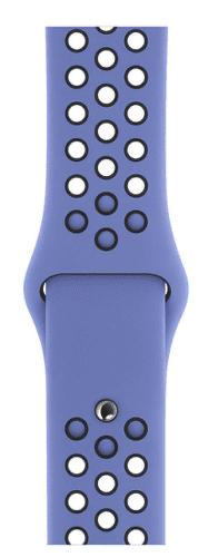 Apple Watch 40 mm Nike sportovní řemínek S/M a M/L, noblesně modrý/černý