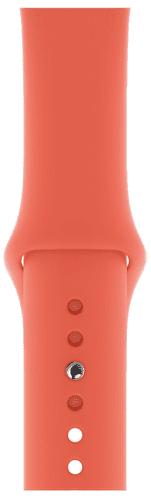 Apple Watch 44 mm sportovní řemínek S/M a M/L, mandarinkový