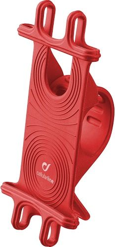 CellularLine Bike Holder držák na řídítka, červená