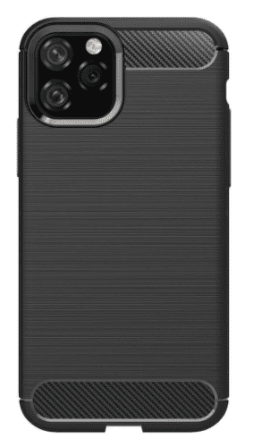 Winner Carbon pouzdro pro Apple iPhone 11, černá