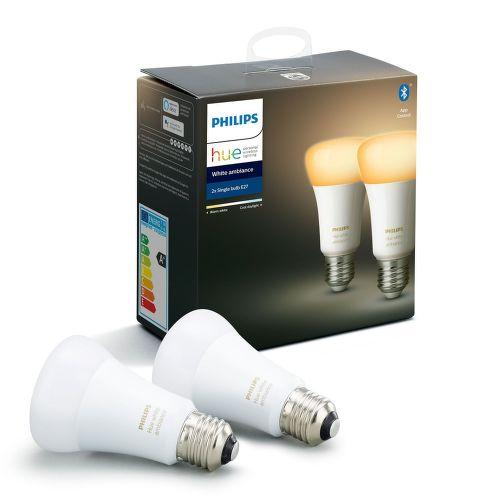 Philips Hue White Ambiance 8.5W E27 set 2ks