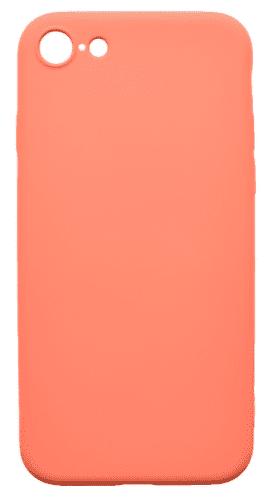 Mobilnet gumové pouzdro pro Apple iPhone 8, korálová