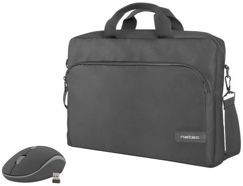 """Natec Wallaroo NTO-1304 set taška na notebook 15,6"""" + myš"""