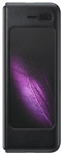 Samsung kožené pouzdro pro Samsung Galaxy Fold, černá