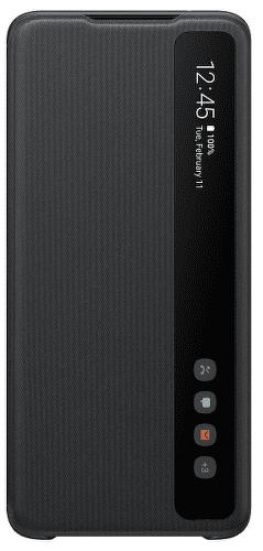 Samsung Clear View Cover pouzdro pro Samsung Galaxy S20 Ultra, černá