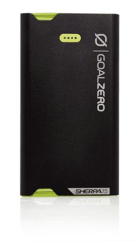 Goal Zero Sherpa 15 Lightning/microUSB powerbanka 3870 mAh, černá