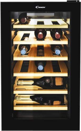 CANDY CWCEL 210, černá vinotéka