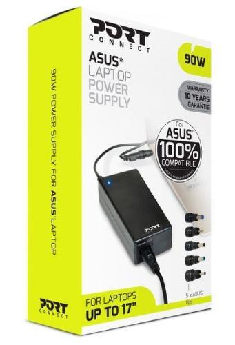 Port Designs 90W napájecí adaptér pro notebooky Asus
