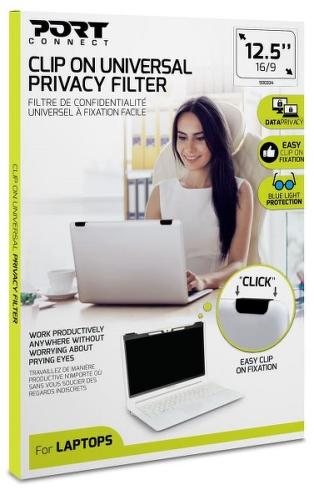 """Port Connect Privacy Filter 2D 12,5"""" Clip On"""
