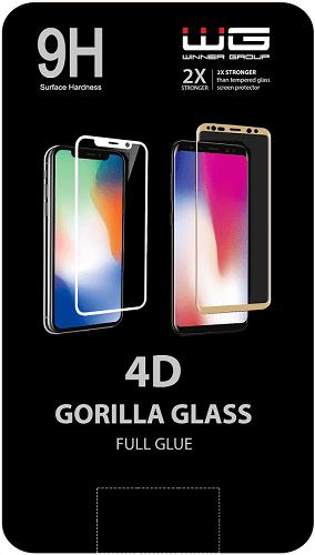 Winner 4D Full Glue tvrzené sklo pro Samsung Galaxy S10 Lite, černá
