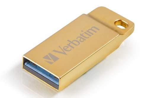 Verbatim Store 'n' Go Metal Executive 32 GB zlatý