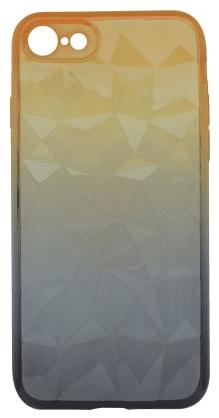 Mobilnet Diamond pouzdro pro Apple iPhone 8 a 7, oranžovo šedá