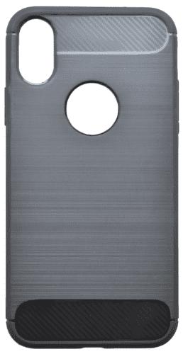 Mobilnet Simple gumové pouzdro pro Apple iPhone Xr, černá