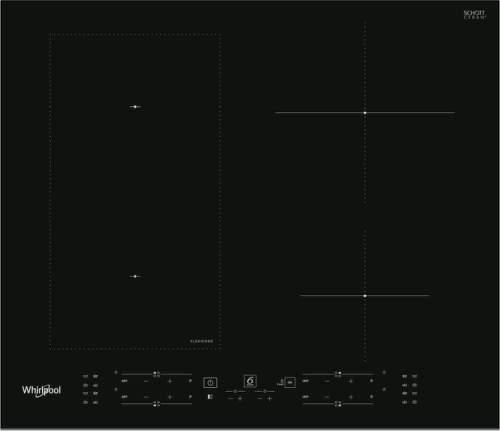 WHIRLPOOL WL B1160 BF, čierna indukčná varná doska (1)