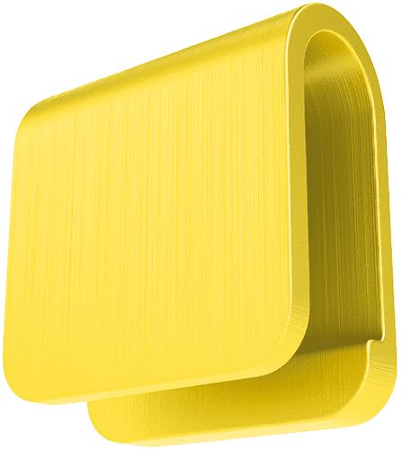 Easycover 613351 žlutá krytka
