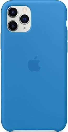 Apple silikonové pouzdro pro iPhone 11 Pro, modrá