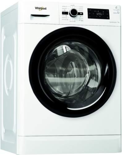 WHIRLPOOL FWG71283BV EE, bílá pračka plněná zepředu