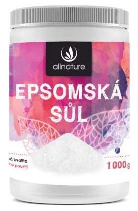 Allnature Epsomská soľ natural 1000 g