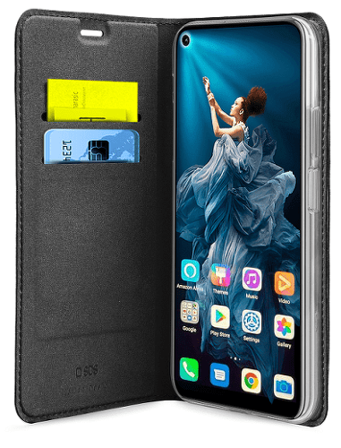 SBS flipové pouzdro pro Huawei P Smart 2020, černá