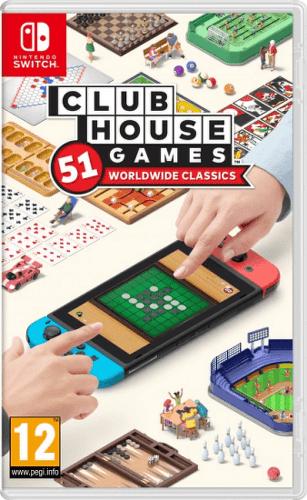 Club House Games: 51 Worldwide Classics - Nintendo Switch hra