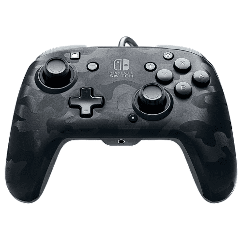 PDP Faceoff Deluxe+ Audio Wired Controller pro Nintendo Switch (černý)