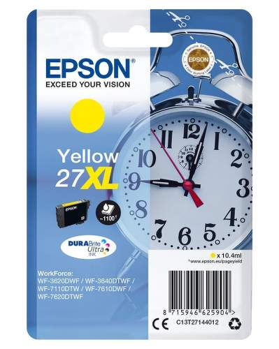 Epson 27XL Yellow