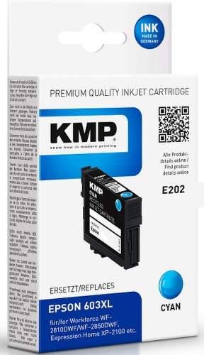 KMP E202 (Epson 603XL) Cyan