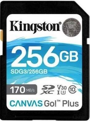 Kingston Canvas Go! Plus SDXC 256 GB UHS-I U3