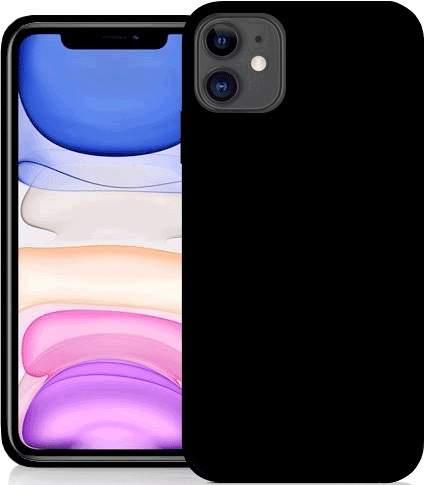 Fonex TPU pouzdro pro Apple iPhone 11, černá
