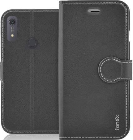 Fonex Identity flipové pouzdro pro Huawei Y6s, černá
