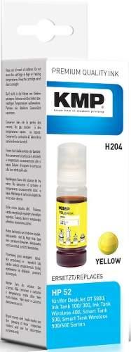 KMP H204 (HP GT52) Yellow