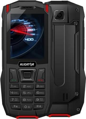 Aligator K50 eXtremo černo-červený