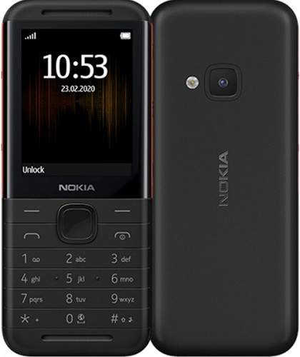 Nokia 5310 Dual SIM černo-červený