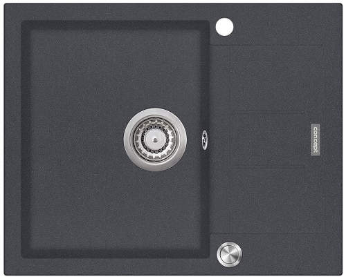 Concept DG05C45DG dřez tmavě-šedý