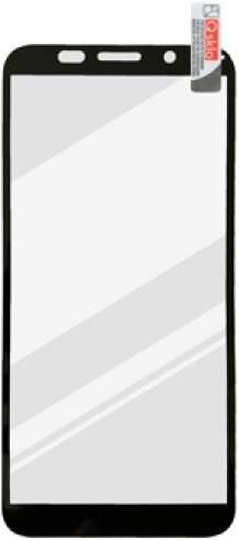 Mobilnet 2,5D tvrzené sklo pro Huawei Y5p, černá