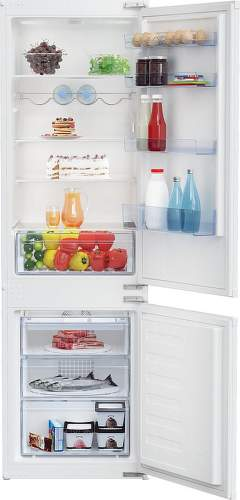 Beko BCHA275K4SN, vstavaná kombinovaná chladnička
