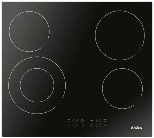 AMICA DS 6412 B, černá sklokeramická varná deska