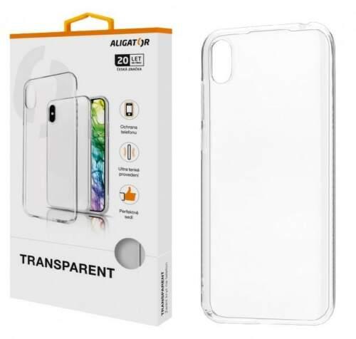 Aligator TPU puzdro pre Apple iPhone 12 mini transparentná