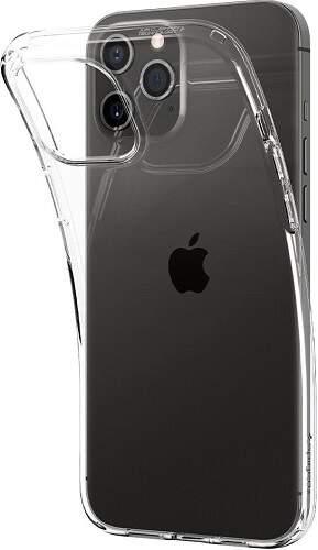 Spigen Liquid Crystal pouzdro pro Apple iPhone 12/12 Pro transparentní