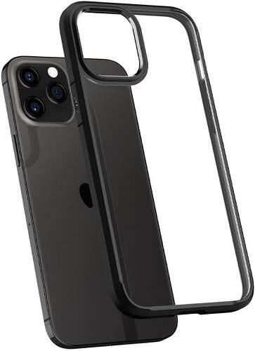 Spigen Ultra Hybrid pouzdro pro Apple iPhone 12/12 Pro černá