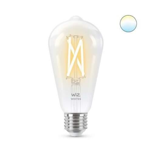 WiZ Tunable White 6,7W (60W) E27 ST64 Filament žiarovka.1