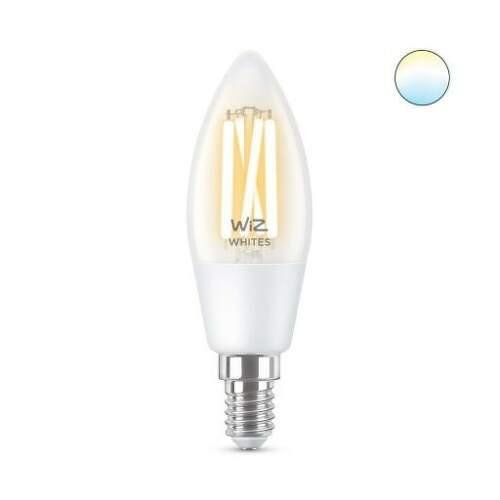 WiZ Tunable White 4,9W (40W) E14 C35 Filament žiarovka.1