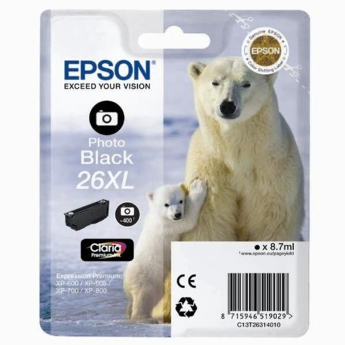 EPSON EPCST26314020 Photo BLACK cartridge