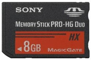 SONY MSHX8A 8GB MEMORY STICK