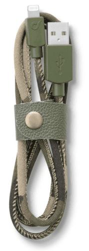 CellularLine LongLife Kábel s konektorem lightning (camouflage)