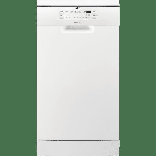 AEG FFB51400ZW, bílá myčka nádobí