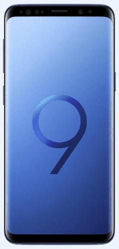 Samsung Galaxy S9 Duos modry